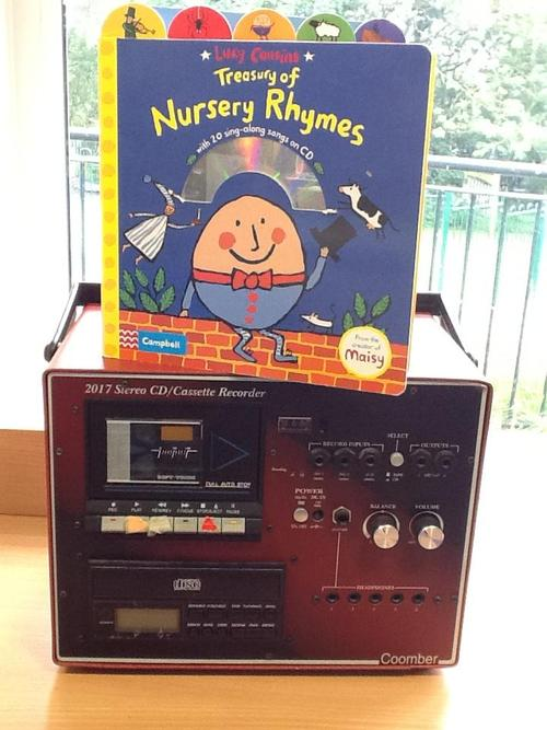 You can listen to Nursery Rhymes