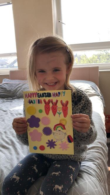 What a beautiful Easter Card!