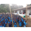 Morning Collective Worship at Charles Lwanga Primary School.