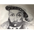 Olly's portrait of Henry VIII