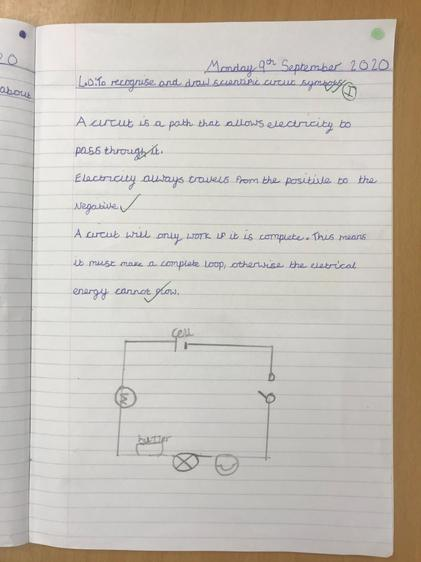 Deepika's excellent work on circuits and circuit symbols.
