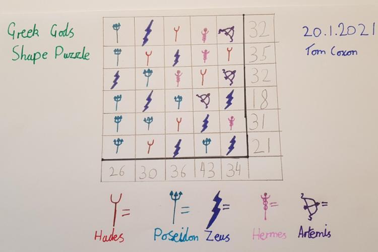 Tom Maths Puzzle