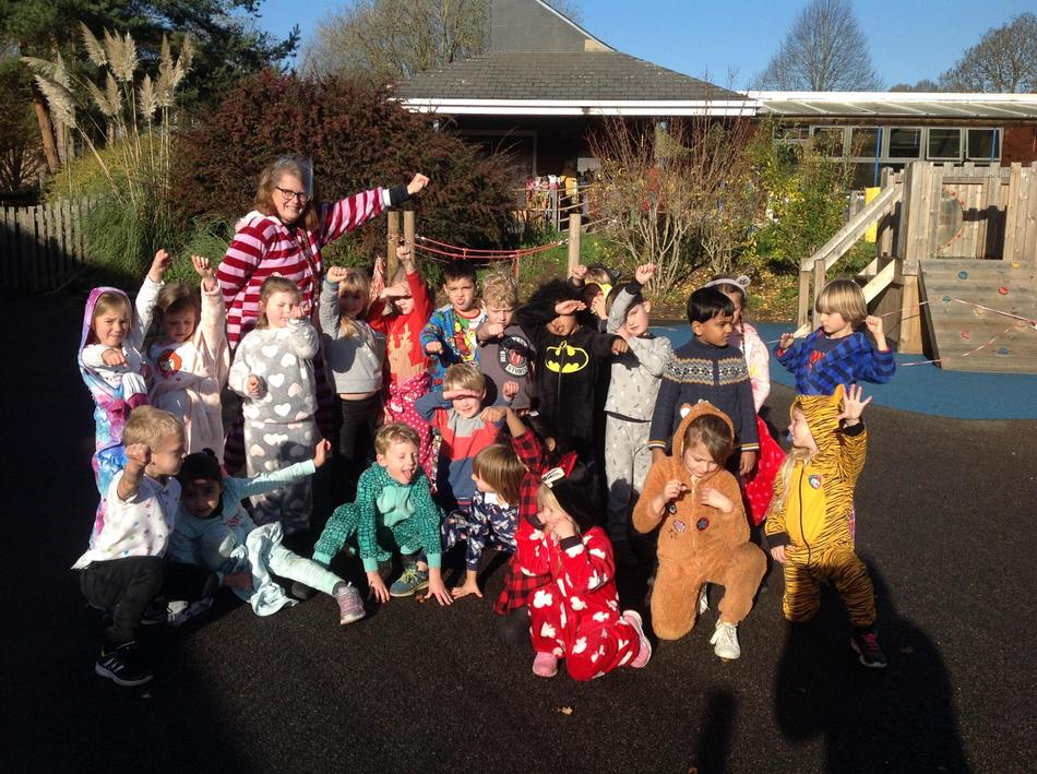 1A does Children in Need superhero  style
