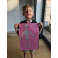 Skeleton making. Our body is amazing. How many bones do we have?