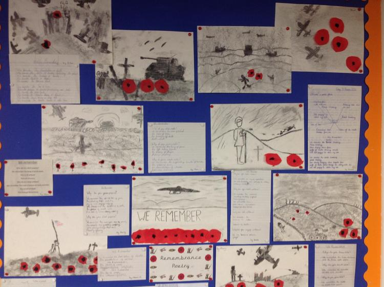 Remembrance Art and Poetry