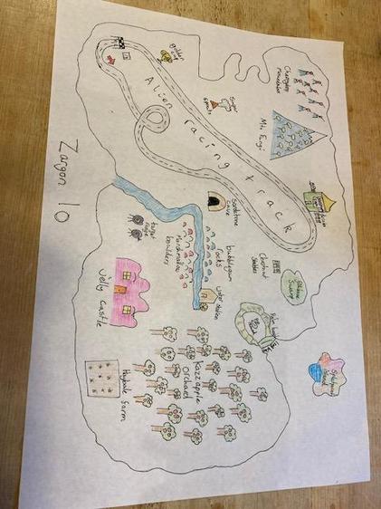 Isabella's Zargon 10 Map