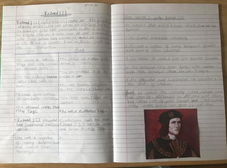 Isaac has done incredible research on Richard III.