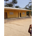 A new school built by the OWL chairman for his village.