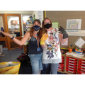 Mrs Bean and Mrs Reynolds wishing you a safe yet happy summer.