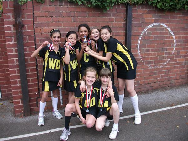 Harborne School's Netball Champions 2011-12