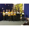 Bronze Attendence Award Winners