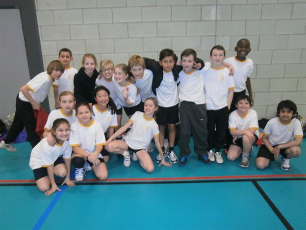 Shenley Academy Indoor Athletics Team