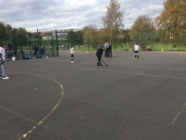 Hockey at Lordswood