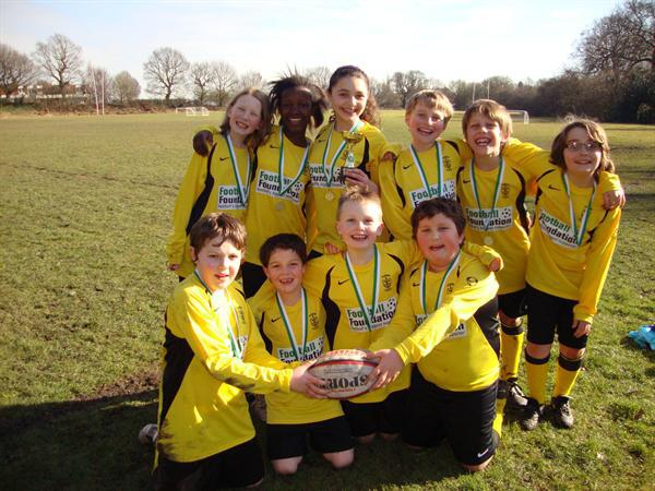 Harborne School's Rubgy Champions