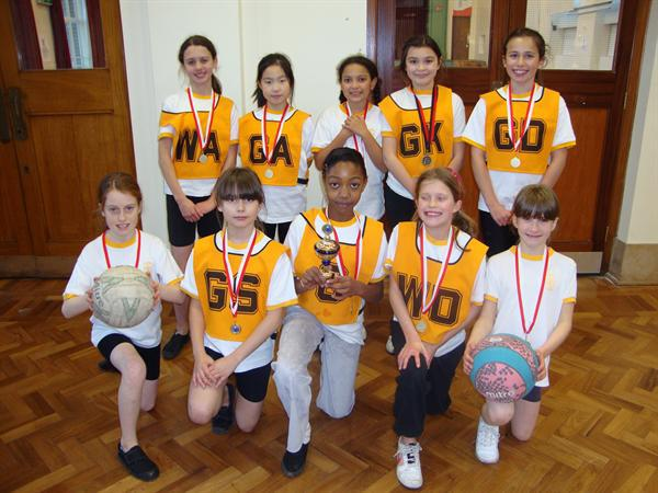 Harborne School's Netball Champions 2010-11