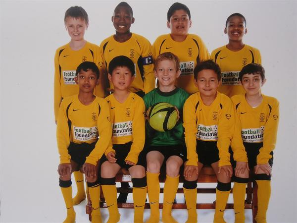 St Peter's Year 5 and 6 Football Team 2012-2013