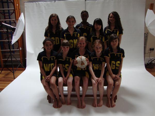Netball Team 2010-2011