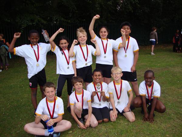 Harborne School's Rounders Year 4 Champions 10-11