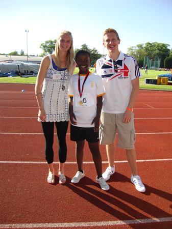 Irene Kumwinba Individual Girl's Champion 2010