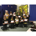 Gold (100%) Attendence Award Winners