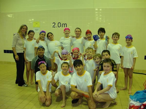 Swimming Team 2011