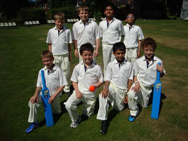 Boys Cricket Team 2010-11