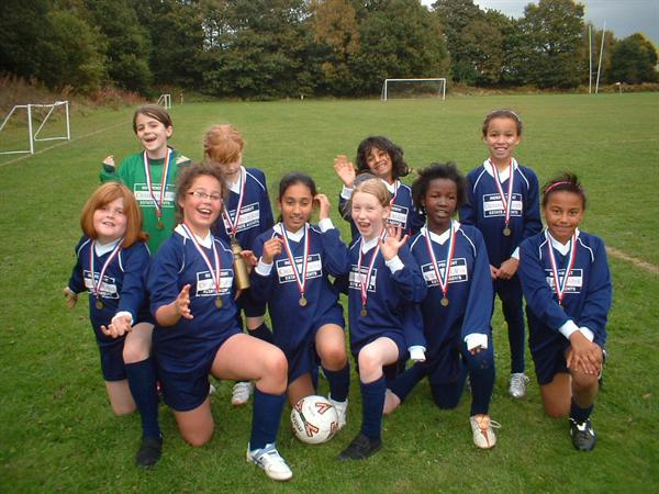 Harborne School's Football Champions 2009