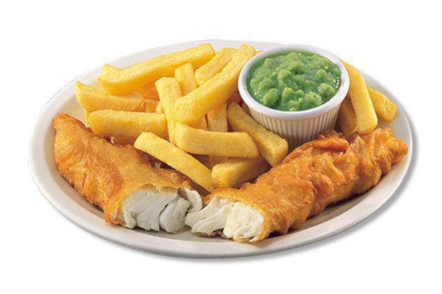 Fish 'n' Chips dinner - Adults