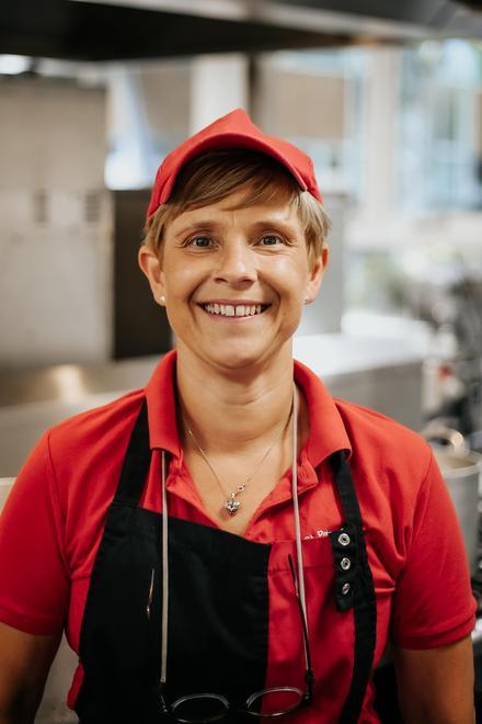 Mrs Wightman - Kitchen Assistant