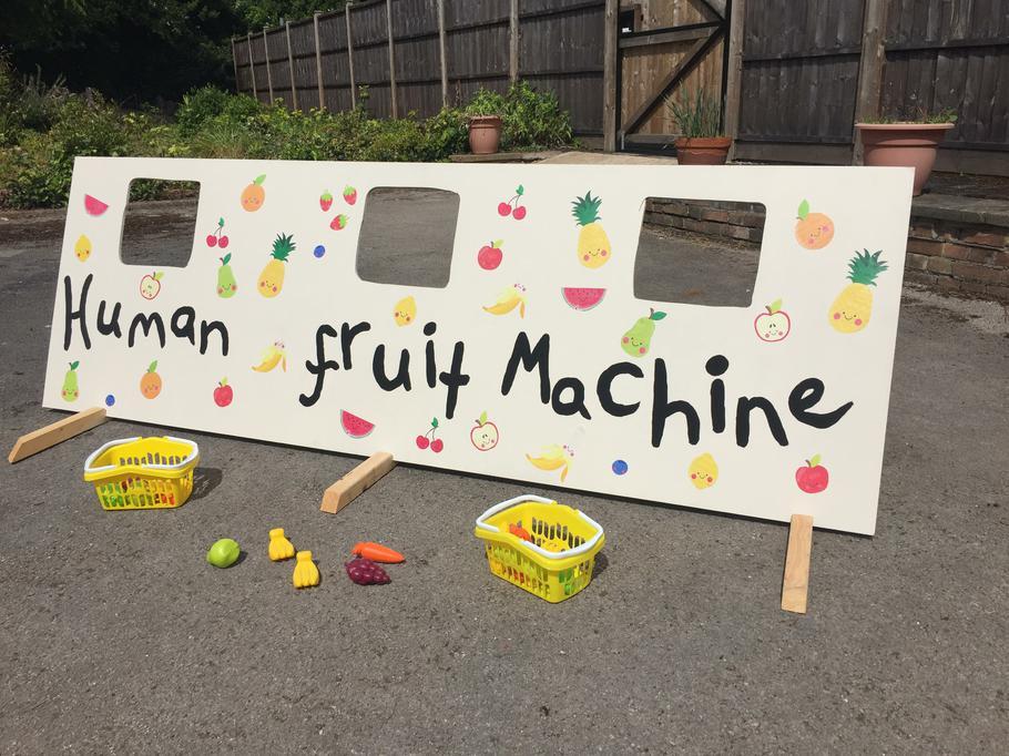 Human Fruit Machine