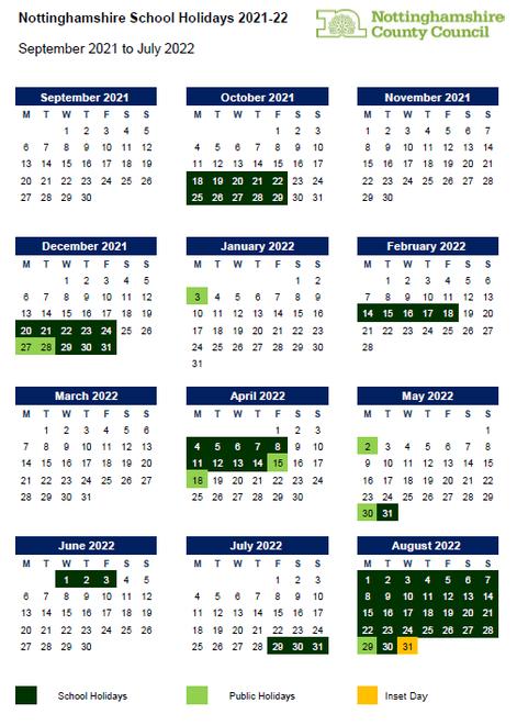 September 2021 - August 2022