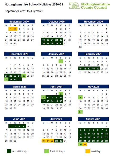 September 2020 - August 2021