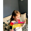 Millie-Rose has been reading lots as well.