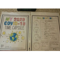 Owen has been making a time capsule