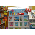 We have a wide selection of books and lots of fantastic decorations.