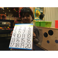 Look at my number writing!