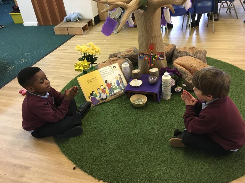 We have been reflecting on the story of Holy Week