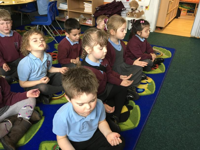 We gather in Reception for our Daily Examen