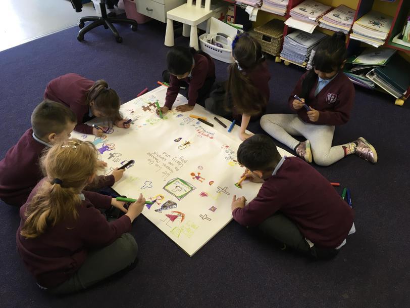 We belong to St. Philip Evans Primary School.