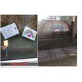 Skyla made a HUGE rainbow to say 'thank you'!