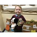 WE MADE NAME TAGS FOR OUR OWN BEARS