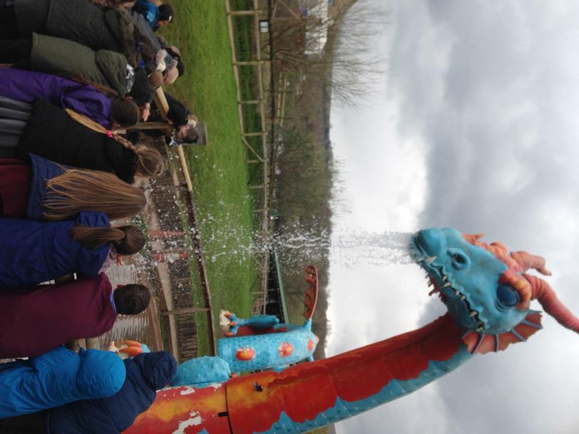 Rex the dragon!