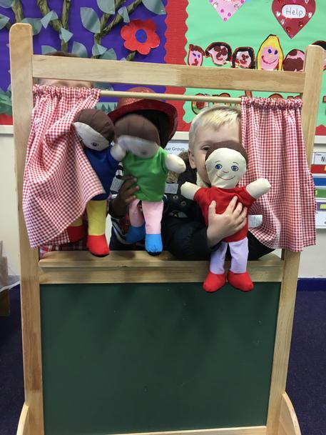 Feeling puppet show