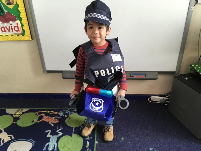 Police Officer Joshua
