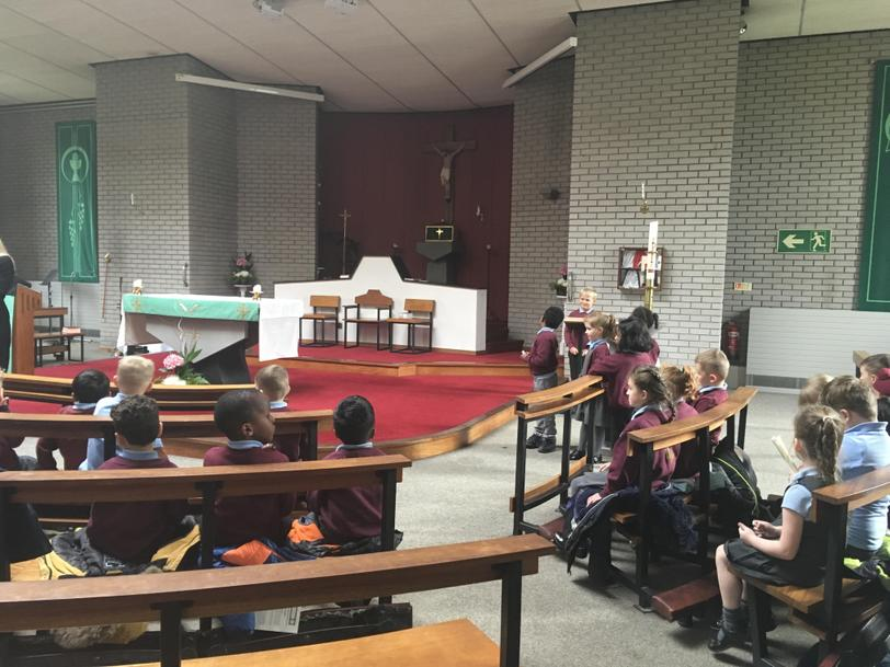 A visit to the church to learn about Baptism