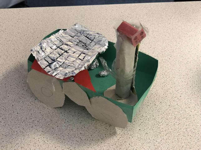 Faizan's Mars Rover