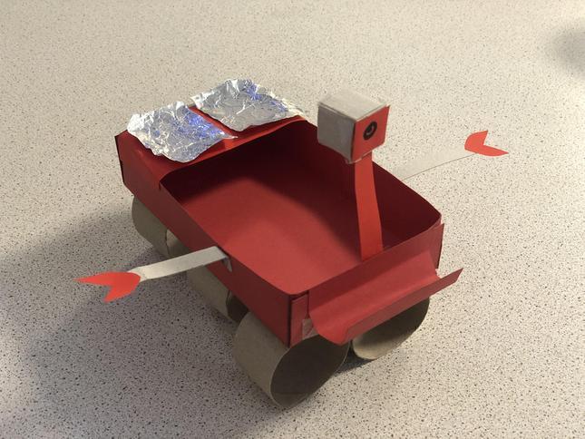 Aisha's Mars Rover