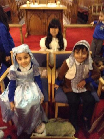 Mary, Joseph and Angel Gabrielle