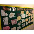 Year 3 - Stone Age Art Work