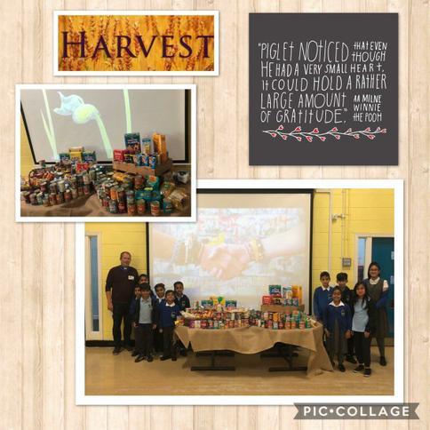Harvest collection for Bradford foodbank